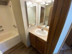 Evergreen Estates in Madison, SD - Bathroom Vanity