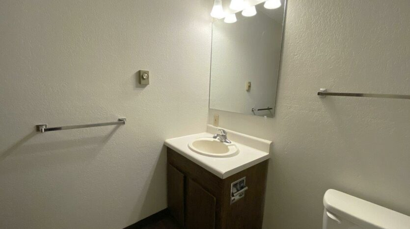 Clairview Apartments in Brookings, SD - 1 Bedroom Apartment Bathroom Vanity