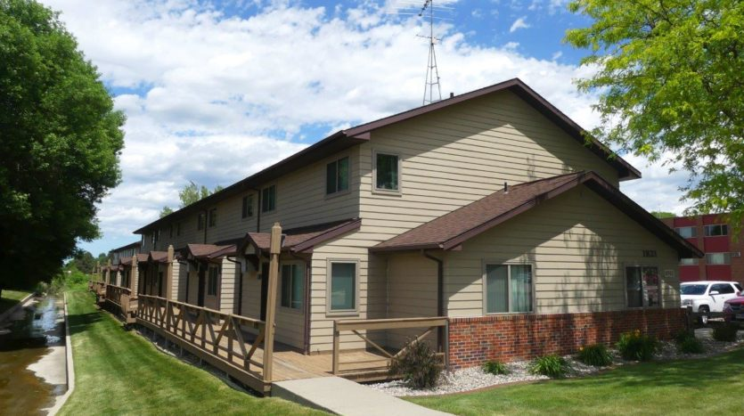 Garden Village Townhomes in Brookings, SD - Private Entry