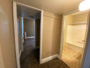 Brownstone Apartments in Brookings, SD - 1st Floor Apt Hallway