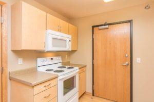 Campus Tech Apartments in Mitchell, SD - Studio Kitchen Stove