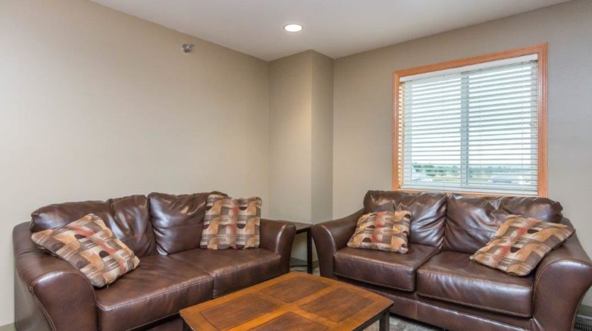 Campus Tech Apartments in Mitchell, SD - Community Room