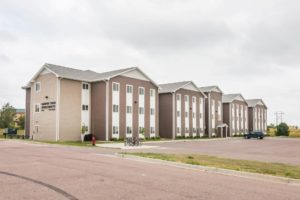 Campus Tech Apartments in Mitchell, SD - Building