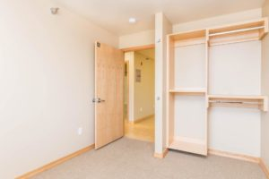 Campus Tech Apartments in Mitchell, SD - Bedroom 2 Closet