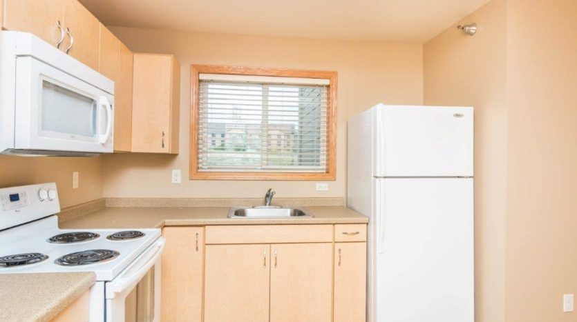 Campus Tech Apartments in Mitchell, SD - Fridge