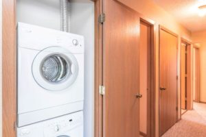 Campus View Apartments in Brookings, SD - In Home Washer and Dryer
