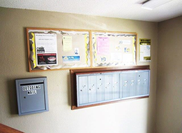 Campus View Apartments in Brookings, SD - Indoor Mail Delivery