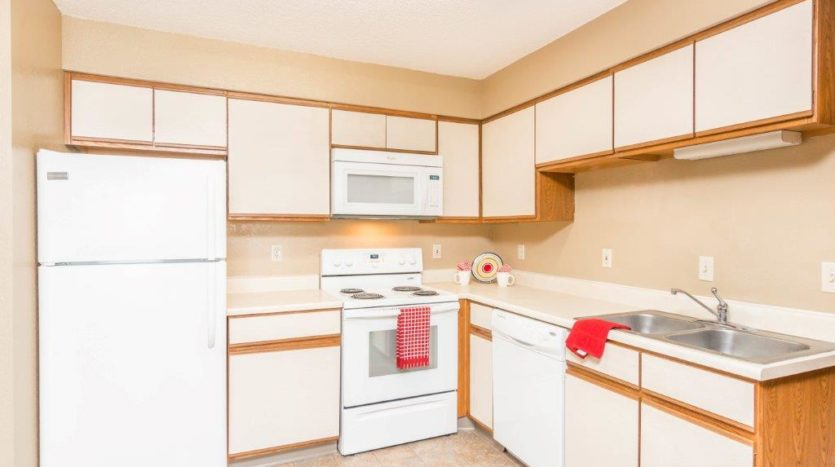 Campus View Apartments in Brookings, SD - Kitchen