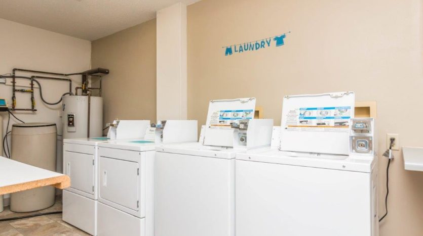 Garden Village Townhomes in Brookings, SD - On-Site Laundry