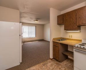 Lake Area Apartments in Watertown, SD - view from kitchen
