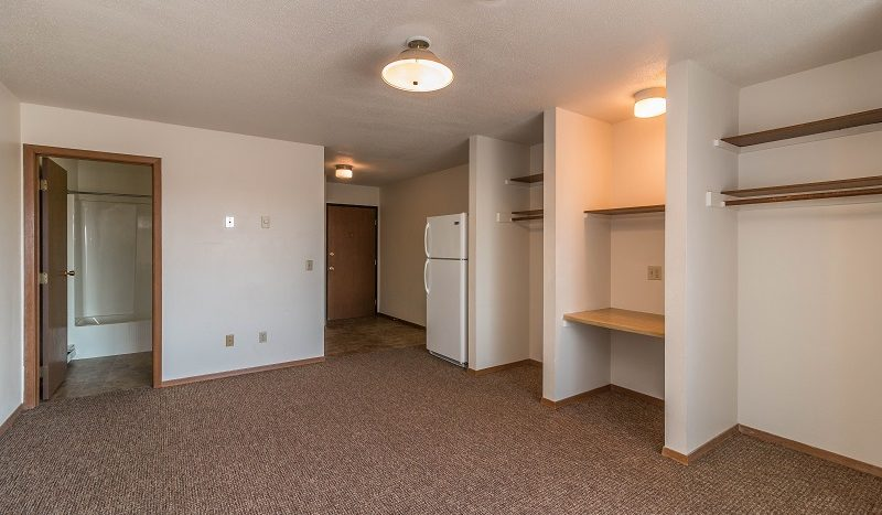 Lake Area Apartments in Watertown, SD - living space toward kitchen