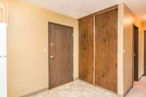 Village Square Apartments in Brookings, SD - Entry Closet