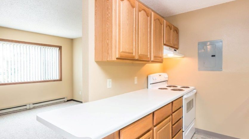 Village Square Apartments in Brookings, SD - Multiple Kitchen Layouts