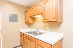 Village Square Apartments in Brookings, SD - Alternate Kitchen Layout