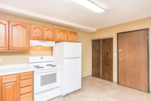 Village Square Apartments in Brookings, SD - Kitchen with Extra Storage