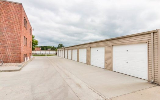 Village Square Apartments in Brookings, SD - On-Site Garages