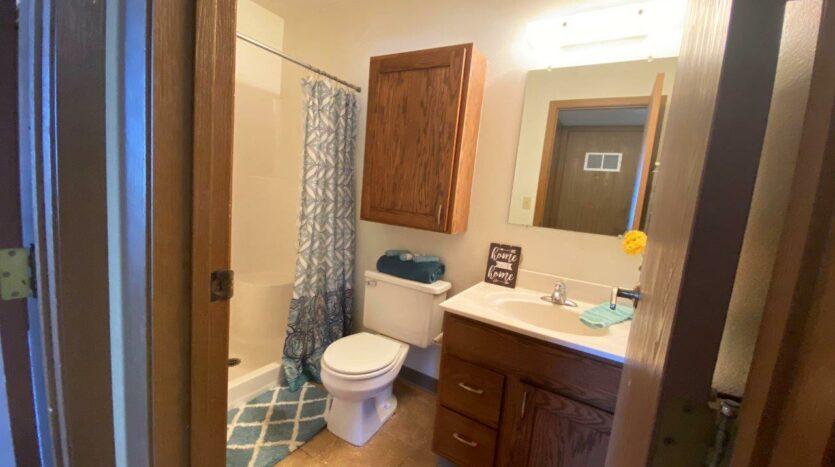 Garden Village Townhomes in Brookings, SD - Main Floor Bathroom