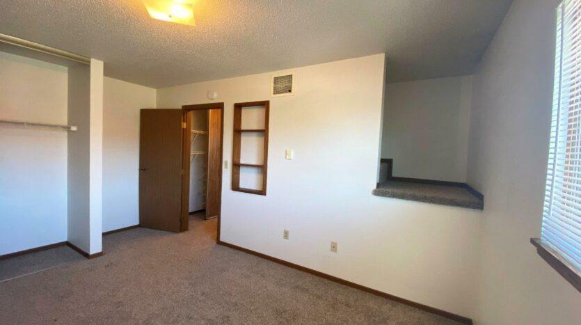 Garden Village Townhomes in Brookings, SD - Bedroom 2 Storage Nook