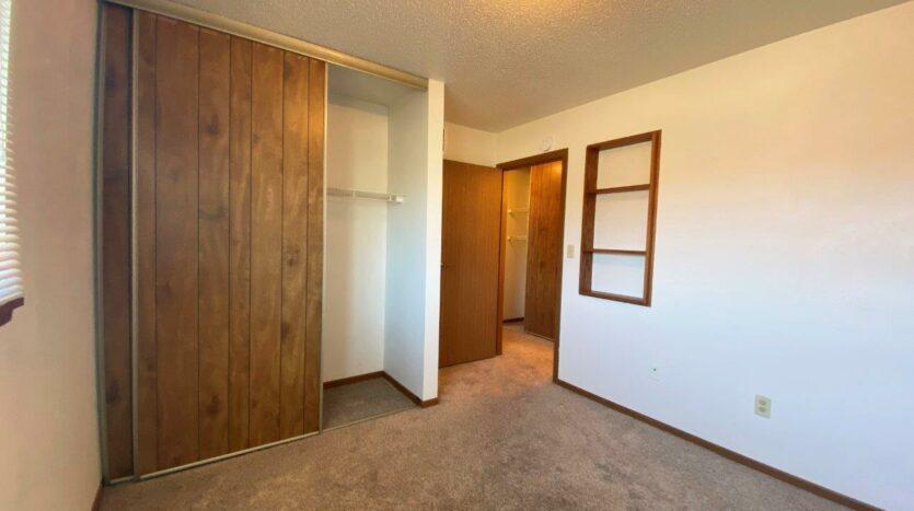 Garden Village Townhomes in Brookings, SD - Bedroom 3 Closet