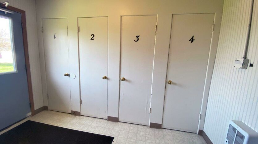 14th Ave. Apartments in Brookings, SD - Main Floor Closets