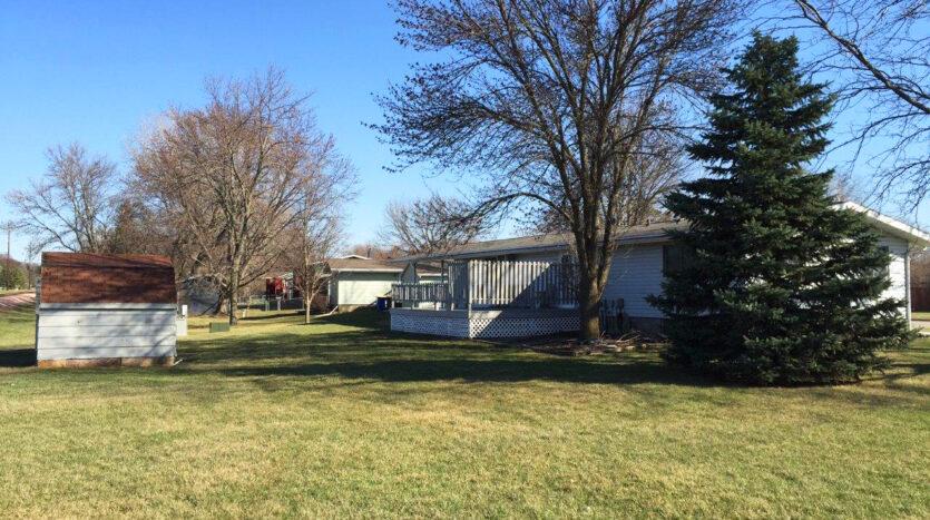 1005 Orchard Drive in Brookings, SD - Backyard