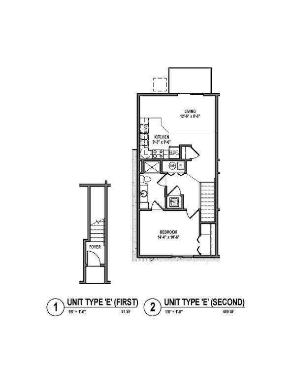 Phase II - Floor Plan E