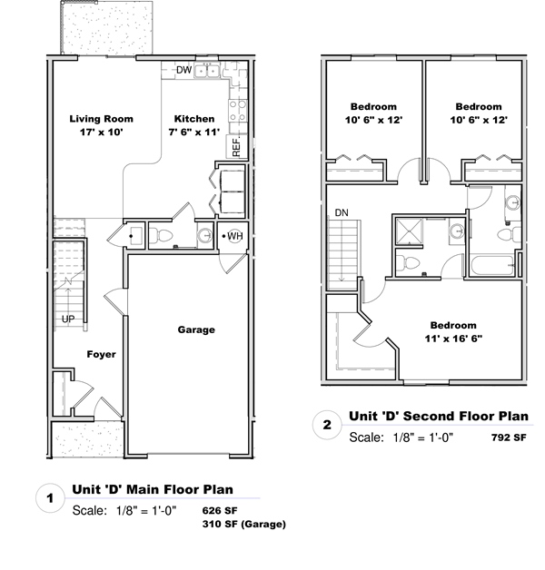Phase I - Floor Plan D