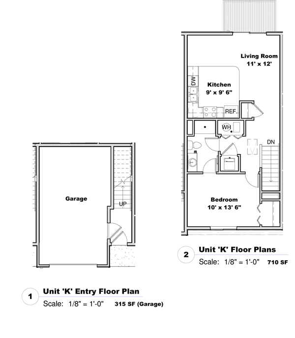 Phase I - Floor Plan K