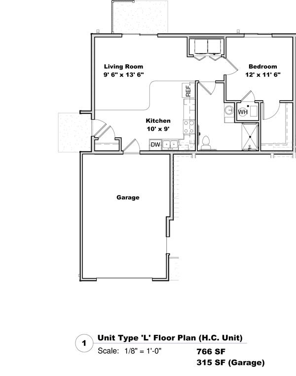 Phase I - Floor Plan L*
