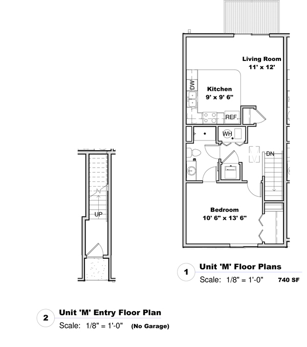 Phase I - Floor Plan M