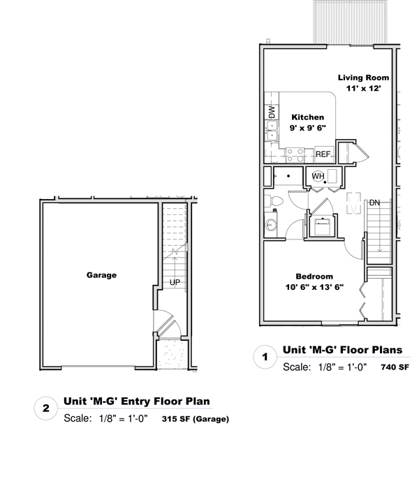 Phase I - Floor Plan M-G