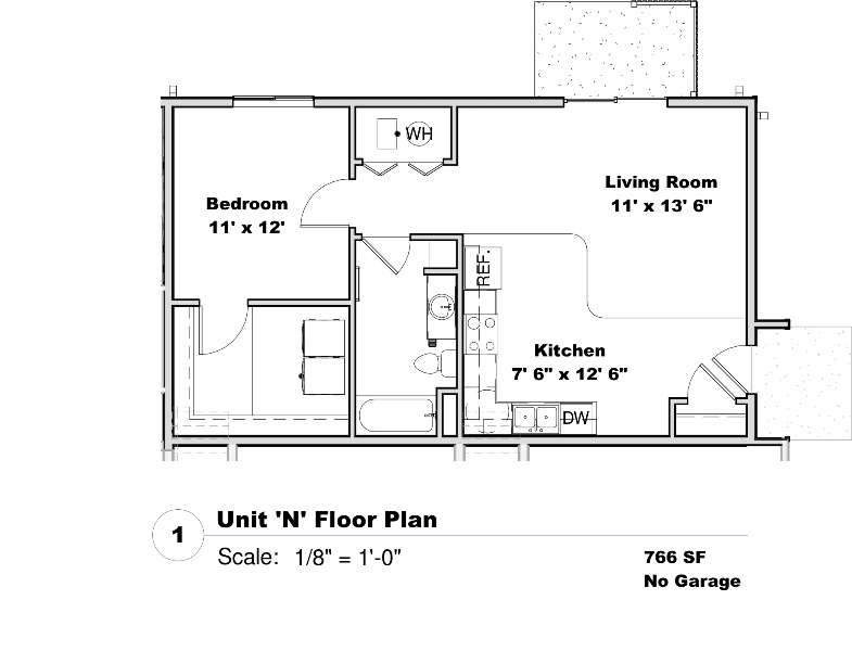 Phase I - Floor Plan N