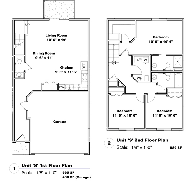 Phase I - Floor Plan S