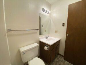 Autumn Grove Apartments in Mitchell, SD - Bathroom Vanity