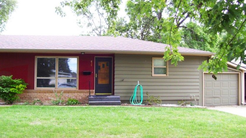 Home for Rent in Madison, SD - Front Door