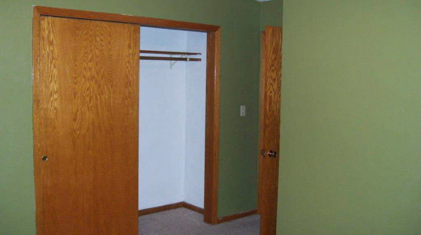Home for Rent in Madison, SD - Bedroom Closer