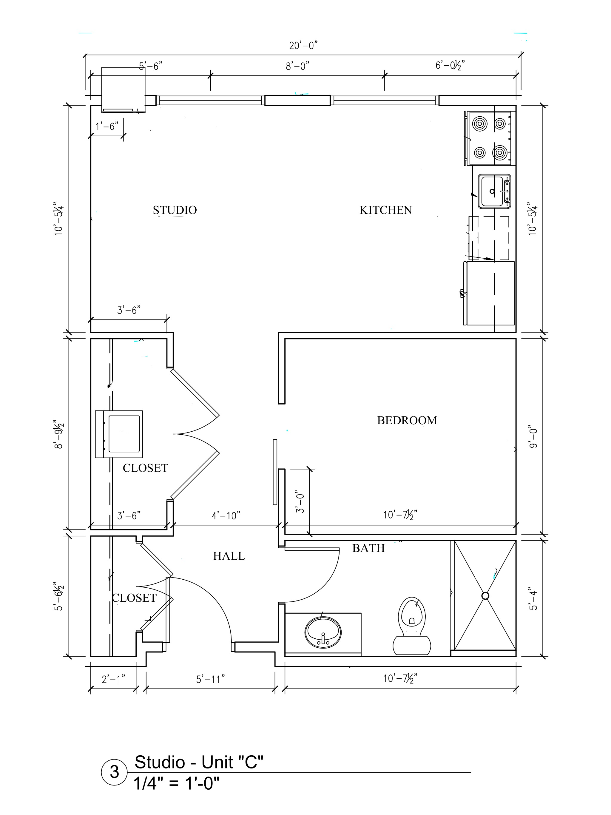 Phase II - Studio Floor Plan