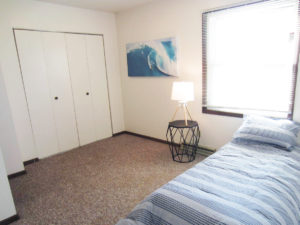 Palace Apartments & Townhomes in Mitchell, SD - 2 Bedroom Apartment Bedroom 2