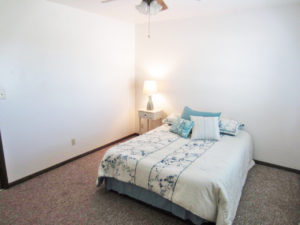 Palace Apartments & Townhomes in Mitchell, SD - 2 Bedroom Apartment Bedroom 1