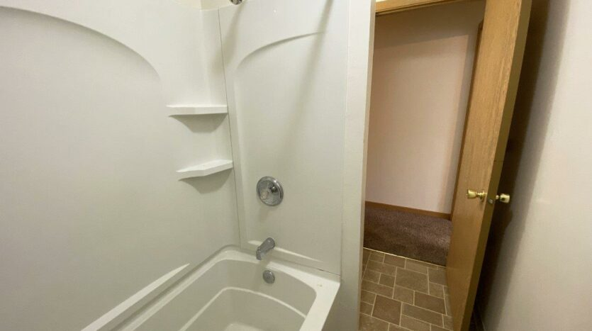 Palace Apartments & Townhomes in Mitchell, SD - 2 Bedroom Townhome Bathroom2