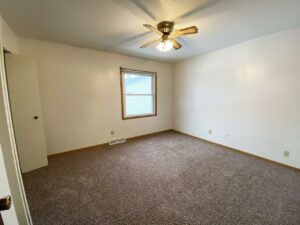 Palace Apartments & Townhomes in Mitchell, SD - 2 Bedroom Townhome Bedroom 2