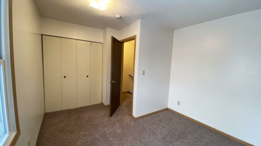 Palace Apartments & Townhomes in Mitchell, SD - 2 Bedroom Townhome Bedroom 1 Closet