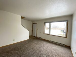 Palace Apartments & Townhomes in Mitchell, SD - 2 Bedroom Townhome Living Room2