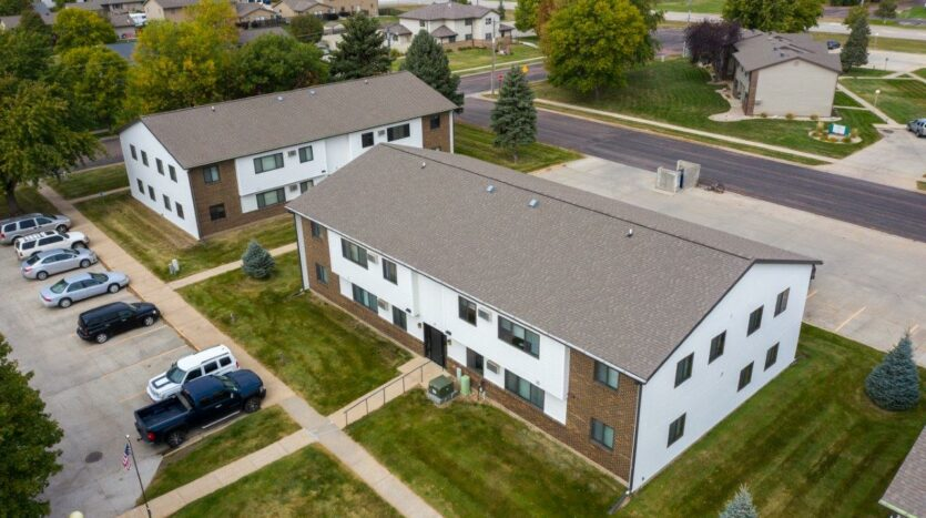 Northland Court Apartments in Mitchell, SD - Exterior