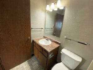 Northland Court Apartments in Mitchell, SD - Alternative 2 Bed Bathroom Vanity
