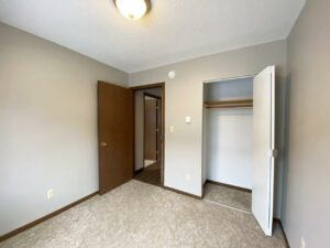 Northland Court Apartments in Mitchell, SD - Bedroom 2 Closet