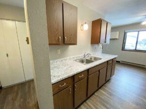 Northland Court Apartments in Mitchell, SD - Kitchen