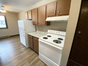 Northland Court Apartments in Mitchell, SD - 2 Bed Kitchen2