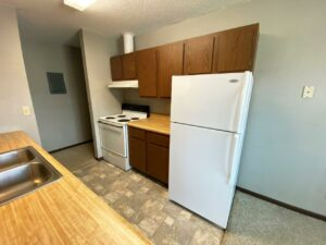 Northland Court Apartments in Mitchell, SD - Alternative 2 Bed Kitchen2