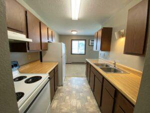 Northland Court Apartments in Mitchell, SD - Alternative 2 Bed Kitchen